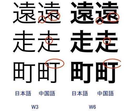 The Type 文字 设计 文化 雪豹新简体字体hiragino Sans Gb