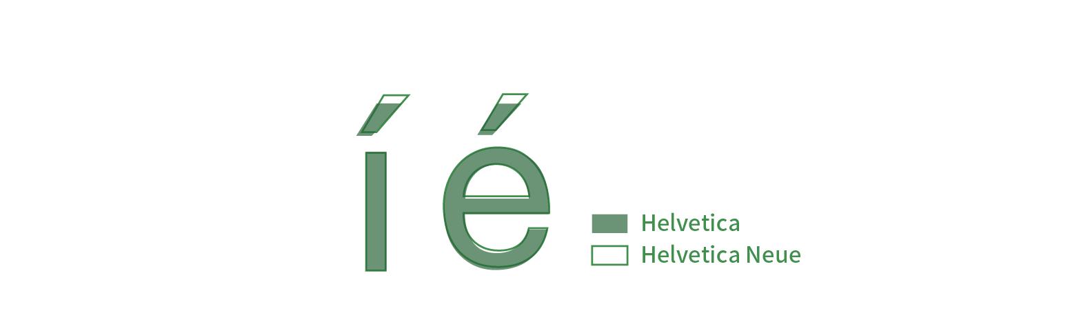 Helvetica-accent