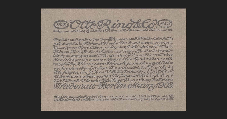 Steglitzer Werkstatt Otto Ring
